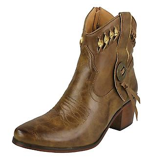 Ladies Down To Earth Cowboy Boots