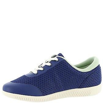 Easy Spirit Womens Deiny Fabric Low Top Lace Up Walking Shoes