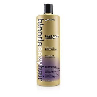 Sexy Hair Concepts Blonde Sexy Hair Bright Blonde Violet Shampoo (For Blonde, Highlighted and Silver Hair) 1000ml/33.8oz