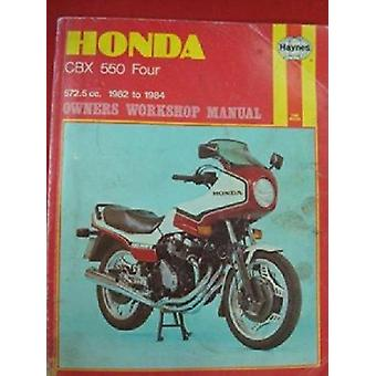 Honda CBX550 Four Owner's Workshop Manual by Pete Shoemark - 97808569