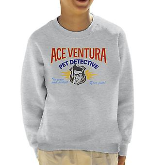 Ace Ventura Pet Detective Logo Kid es Sweatshirt