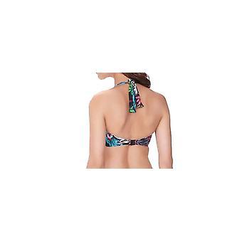 Fantasie Mahe Fs6205 Wp Underwired Padded Bandeau Bikini Top
