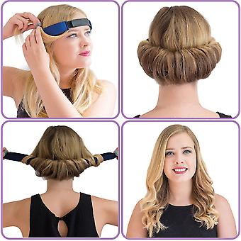 GlamWaves Roller Night Hair Band. Medium/Long Hair