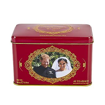 Duke and duchess of sussex english breakfast tea tin 40 teabags