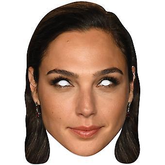 Gal Gadot einzelne 2D-Karte Partei Gesichtsmaske