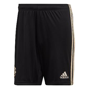 adidas Manchester United 2019/20 Mens Away Football Short Black