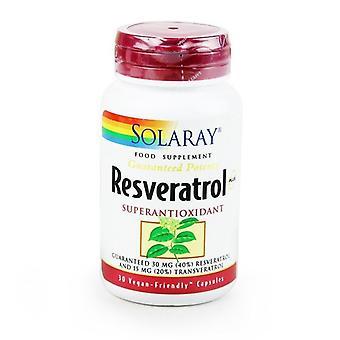 Solaray Resveratrol 75mg Capsules 30 (1985)