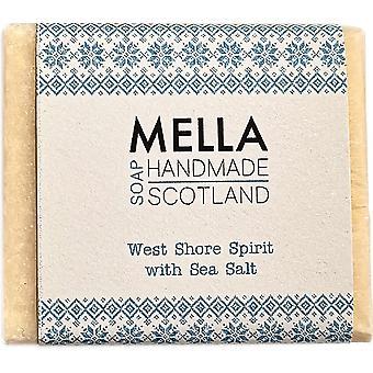 West Shore Spirit Salt Bar - Mella handgemachte Seifen Shetland