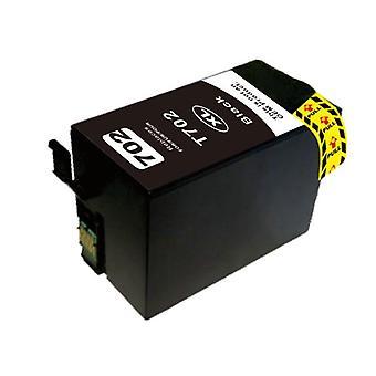 Kompatibel bläckpatron ersättning för 702XL svart