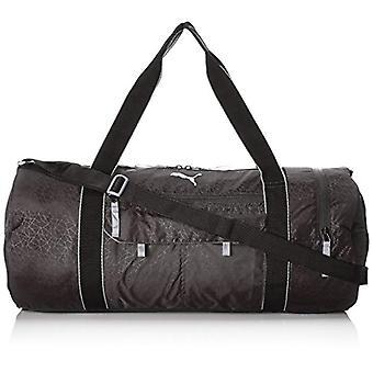 Puma fit bij sport-Bag-Unisex-fit bij sport Duffle-Puma zwart/quiet schaduw-one size