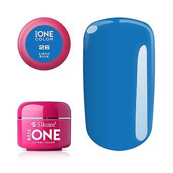 Base one-Color-Light blue 5 g UV-gel