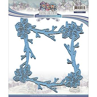 Find It Trading Yvonne Creations Die-Frame, Colorful Christmas