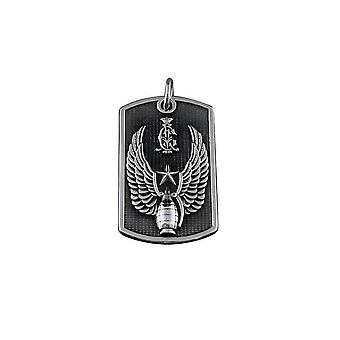 Pendant with chain Stainless Steel Christian Audigier Eagle Wings