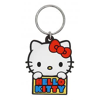 Nøkkel deksel-Hello Kitty Soft touch PVC nøkkel holder ny 78018