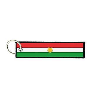 Port Cles Key Cle Homme Homme Fabric Brode Prints Kurdish Kurdistan Flag