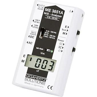 Gigahertz Solutions ME3851A Low frequency (NF)-Analyser, Electric smog meter, 5 Hz - 100 kHz, 2dB (in accordance with t