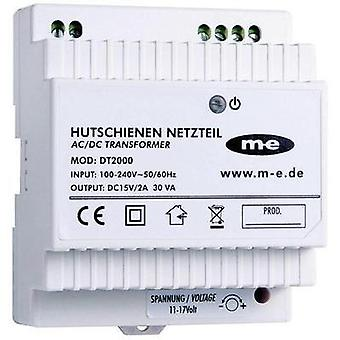 Door intercom DIN rail power supply unit m-e modern-electronics 40778 White