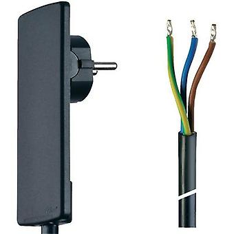 Current Cable [ PG Europlug - Cable, open-ended] Black 1.50 m
