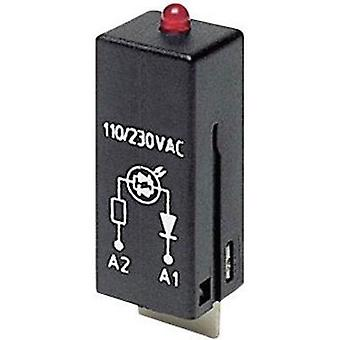 Plug-in module + LED, + protection diode 1 pc(s) TE Connectivity PTML0024 Light colour: Red Compatible with series: TE C