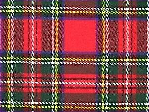 Stewart Royal, Modern - Pure Wool Tartan