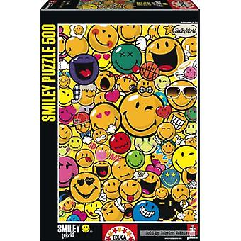 Educa Puzzle Smiley World 500 Pieces (Toys , Boardgames , Puzzles)