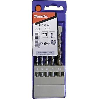 Masonry twist drill bit set 5-piece Makita P-59994 1 Set