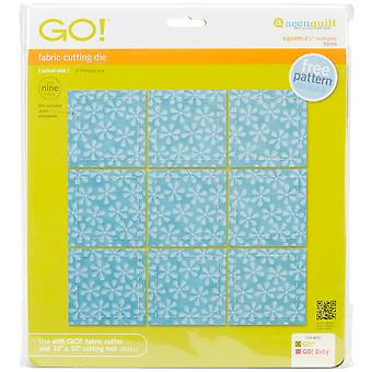 Go! Fabric Cutting Dies-Square 2-1/2