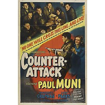 Counter-Attack Movie Poster Print (27 x 40)