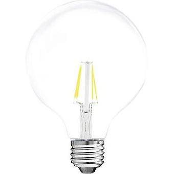 LED E27 Globe 4 W = 37 W Warm white (Ø x L) 95 mm x 140 mm EEC: A++ Müller Licht Filament 1 pc(s)