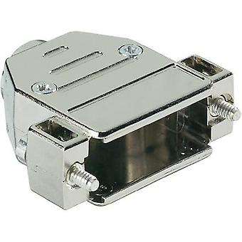 D-SUB housing Number of pins: 15 Plastic, metallised 180 ° Silver Harting 09 67 015 0443 1 pc(s)