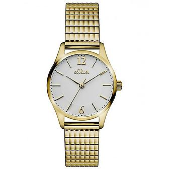 s.Oliver ladies watch train watch wristwatch stainless steel SO-3192-MQ