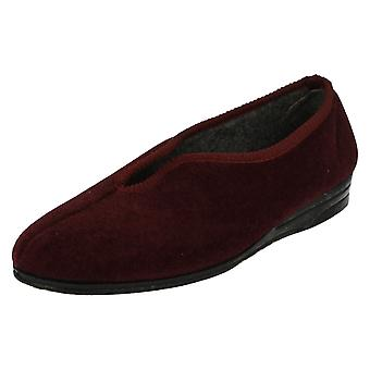 Ladies Lady Love Slip On Slippers Mandy