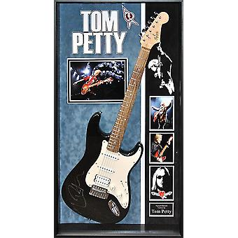 Tom Petty Signed Guitar Custom Framed