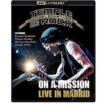 On a Mission: Live in Madrid [Blu-ray] USA import