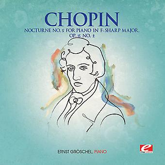 F. Chopin - Nocturne 5 for Piano F-Sharp Major Op 15 2 [CD] USA import