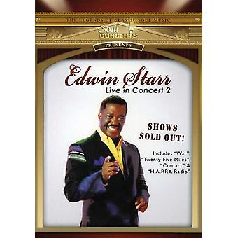 Edwin Starr - Live in Concert [DVD] USA import