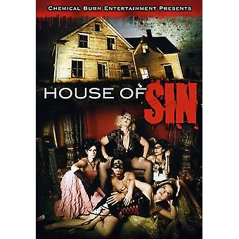 House of Sin [DVD] USA importerer
