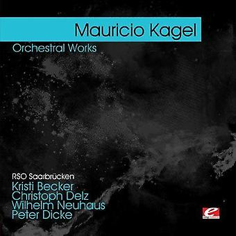 Mauricio Kagel - Kagel Orchestral Works [CD] USA import