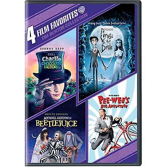 4 Film-Favoriten: Tim Burton Sammlung [DVD] USA importieren