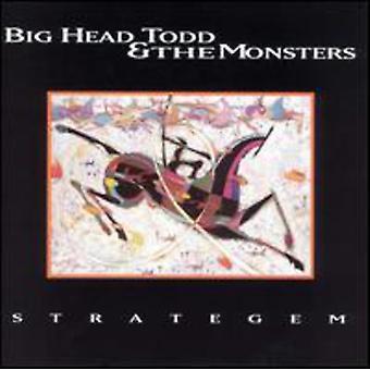 Big Chef Todd & monstre - Strategem [CD] USA importerer