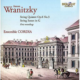 A. Wranitzky - Wranitzky: String Quintet Op. 8/3; String Sextet in G [CD] USA import