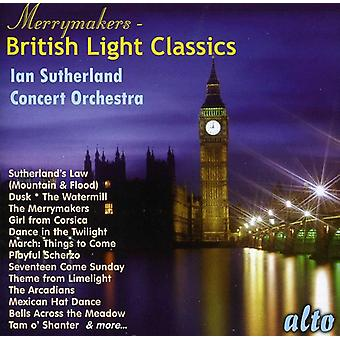 Iain Sutherland Concert Orchestra Iain - The Merrymakers: British Light Classics [CD] USA import