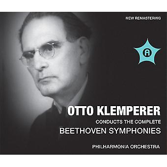Beethoven / Klemperer / Philharmonia Orchestra - symfonier nr. 1-9 [CD] USA import