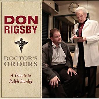 Don Rigsby - lægens ordrer-en hyldest til Ralph Sta [CD] USA import