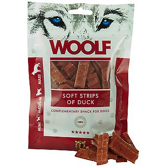 Woolf Soft strips of Duck (Dogs , Treats , Eco Products)