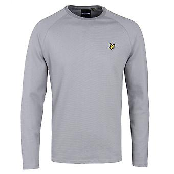 Lyle & Scott Ponte De Roma Mid Grey Crew Neck Sweatshirt