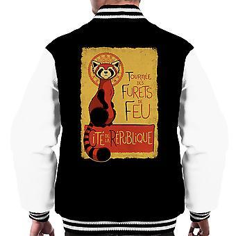 Les Furets de Feu legende af Korra mænds Varsity jakke