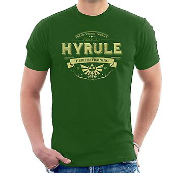 Legend Of Zelda Hyrule Hero Club Men's T-Shirt