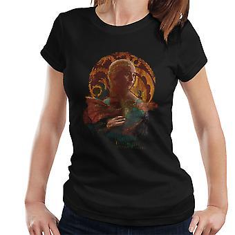 Die Dame mit dem Drachen Spiel der Throne Damen T-Shirt