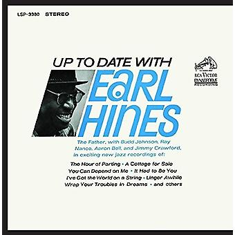 Earl Hines - Up to Date med Earl Hines [CD] USA import